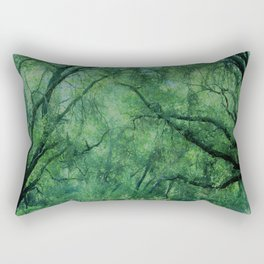 Mystical Forest by Reay of Light Rectangular Pillow