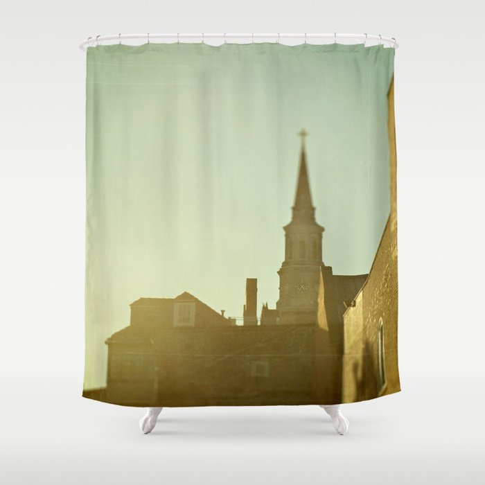 Charleston, South Carolina Shower Curtain