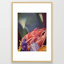 Technicolor Still Life Framed Art Print