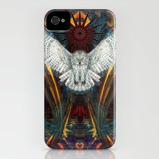 The Great Grey Owl Slim Case iPhone (4, 4s)