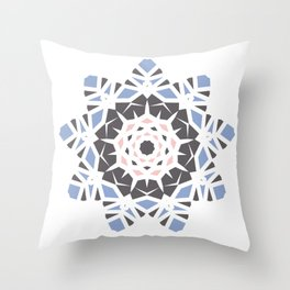Winter Storm in Spring Throw Pillow