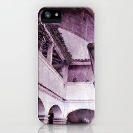 inception violet iPhone Case