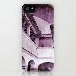 inception violet iPhone Case
