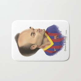 Andres Iniesta - Barcelona Bath Mat