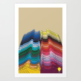 Pharrell Supercolor Art Print