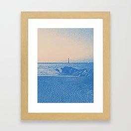 Distance to Light Framed Art Print