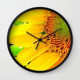 Let the Sun Shine Wall Clock