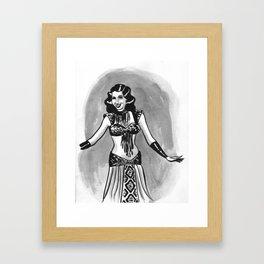 Samia Gamal Framed Art Print