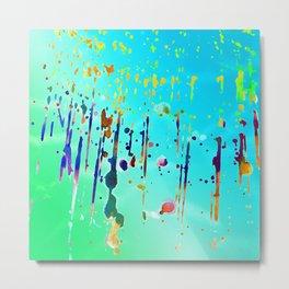 Water Colored Metal Print