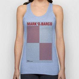 Mark 'O' Barco - Uniform  Unisex Tank Top