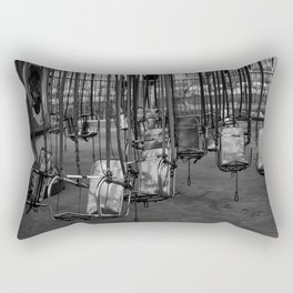 Empty Swings Rectangular Pillow