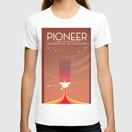 Pioneer Exploration of the Solar System T-shirt