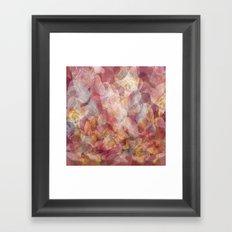 Lines and shapes artwork Framed Art Print