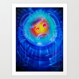Space and time 6 Art Print