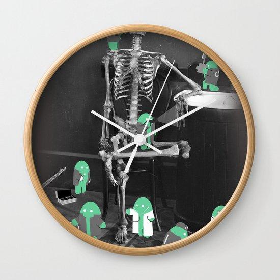 Crime Scene Investigation Wall Clock