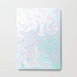 Pale Milkshake Metal Print