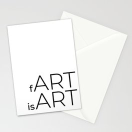 fArt is Art Stationery Cards