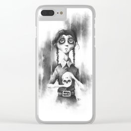 The Woeful Wednesday Clear iPhone Case
