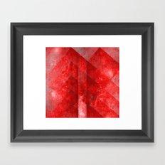 Ruby Nebulæ Framed Art Print