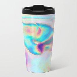 Iridescence - Rainbow Abstract Travel Mug