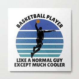 basketball player men Metal Print