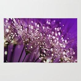 Violet Dewdrops Rug