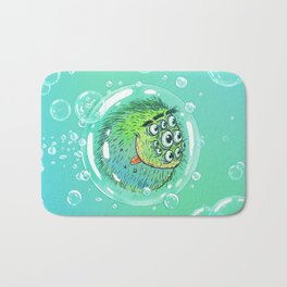 Bacillus B0b on bubble-transport Bath Mat