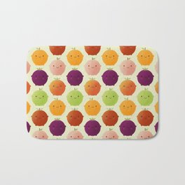 Cutie Fruity (Watercolour) Bath Mat