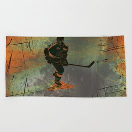 The Game Changer - Ice Hockey Tournament Beach Towel