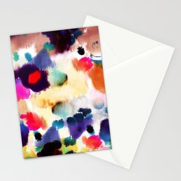 Ink Mix II Stationery Cards