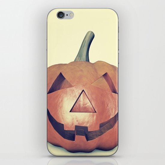 Smile Head  iPhone & iPod Skin