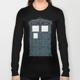 The Timey Wimey of Doctor Who Long Sleeve T-shirt