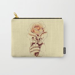 Rose a la Mode Carry-All Pouch