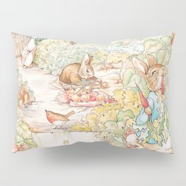 The World of Beatrix Potter illustration Pillow Sham