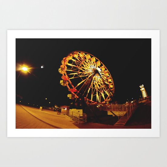 Night to remember. Art Print