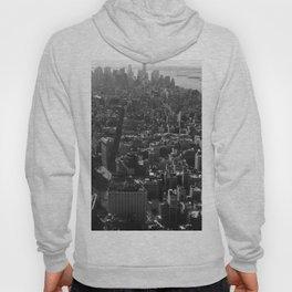 Manhattan Skyline, NY, fine art print, new york city, high quality photo Hoody