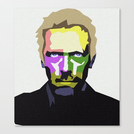 DR HOUSE Canvas Print