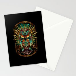 S'Owl Keeper Stationery Cards