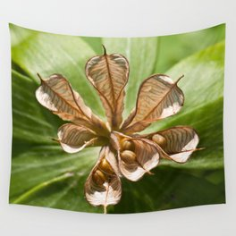 Seed pod Wall Tapestry
