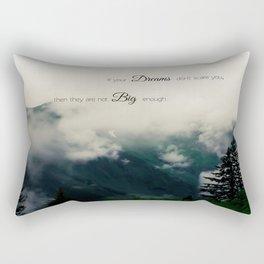 Dream Big II Rectangular Pillow