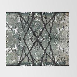 Oregon fall geometry VII Throw Blanket