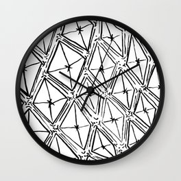 Quilted Kites Wall Clock