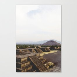 AROUND THE WORLD // TEOTIHUACÁN Canvas Print