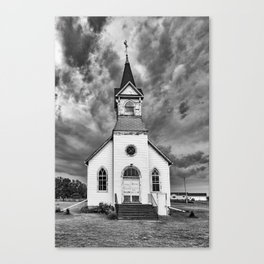 The Second Coming No One Expected Canvas Print