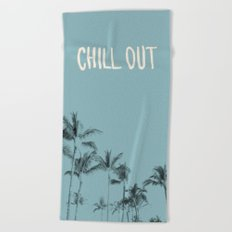 Chill Out — Turquoise Beach Towel