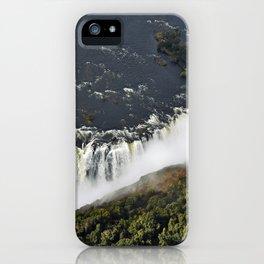 Victoria Falls. iPhone Case