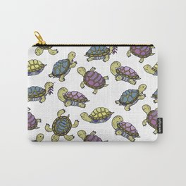 Turtles on the lake Carry-All Pouch
