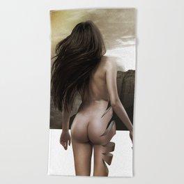 Nude Inside Beach Towel