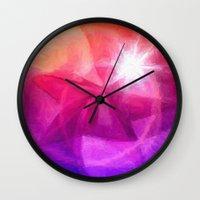 destiny Wall Clocks featuring Destiny by Geni
