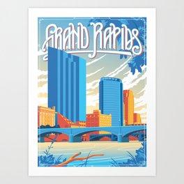 Grand Rapids Art Print